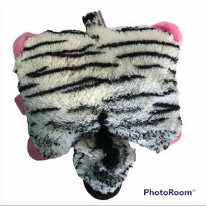 Pillow Pets Zebra Authentic ECU 3010 Gift Toy Plush Toddler Collectable Retired